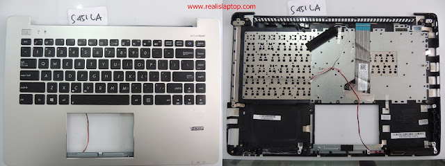 Jual Keyboard Laptop Asus S451LA plus Frame