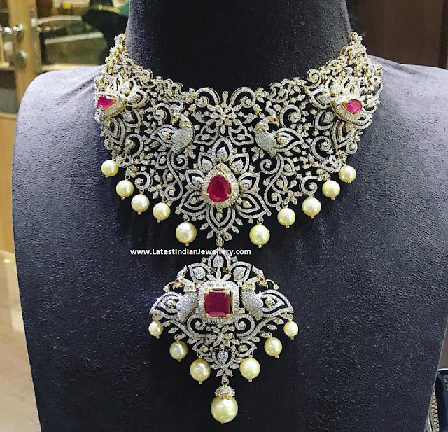 Exceptional Diamond Necklace from PSS