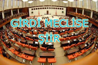 Girdi Meclise - Şiir