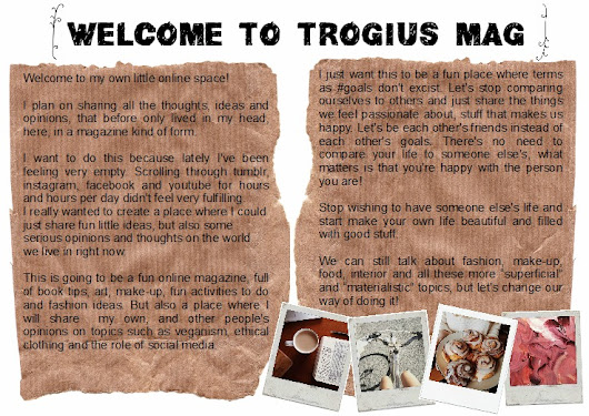 welcome to trogius mag!