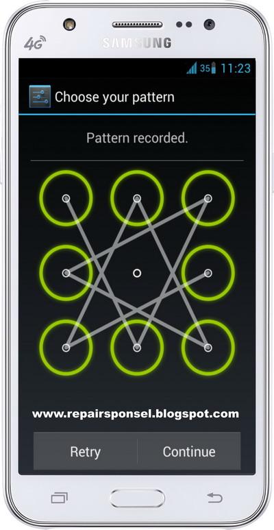 Cara Reset Samsung Galaxy J5 Buka Pola Kunci Repairs Ponsel