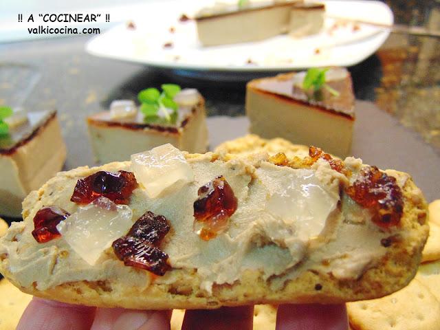 Paté de pollo al Pedro Ximénez