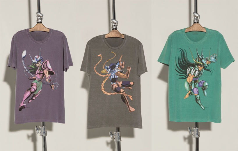 Pegasasu no Seiya: T-Shirt 2ndFloor Cavaleiros do Zodíaco