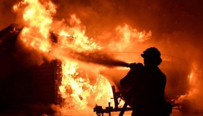 عاجل: حريق مهول بأحد المنازل بمدينة أولاد تايمة
