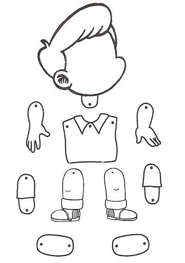 SOS Professores: Boneco Articulado