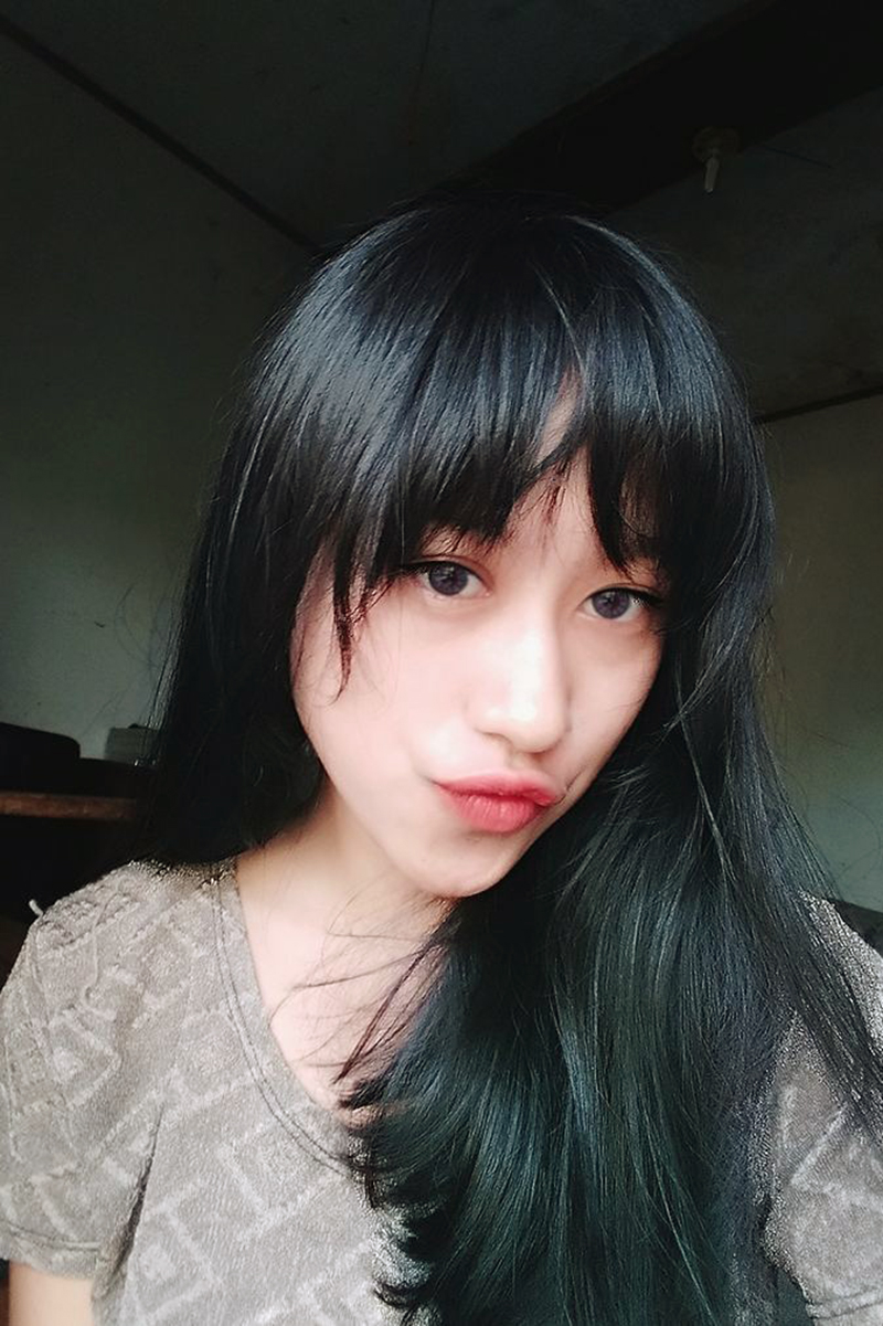 Cewek Igo Imut Bibir Manyun dan seksi