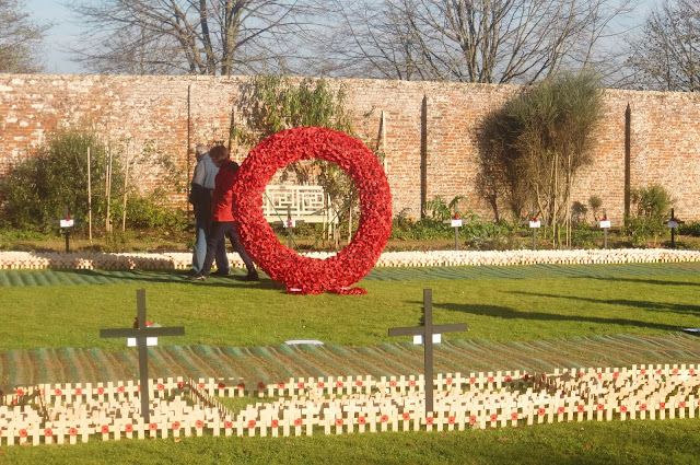 Remembrance Sunday At Lydiard Park