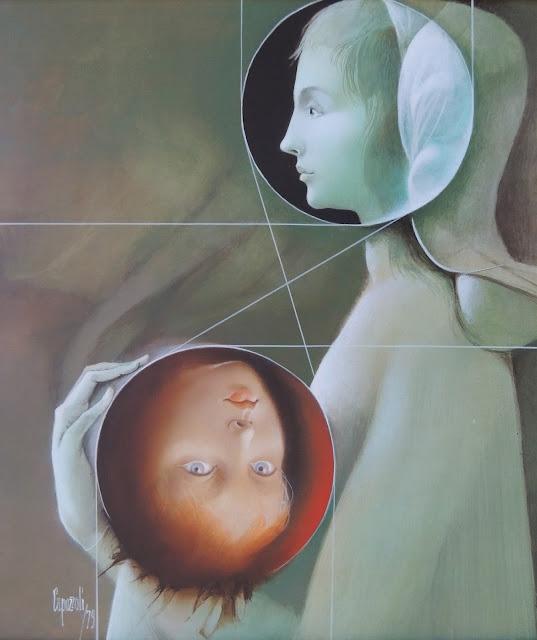 Glauco Capozzoli pintura clasicismo renacimiento retrato