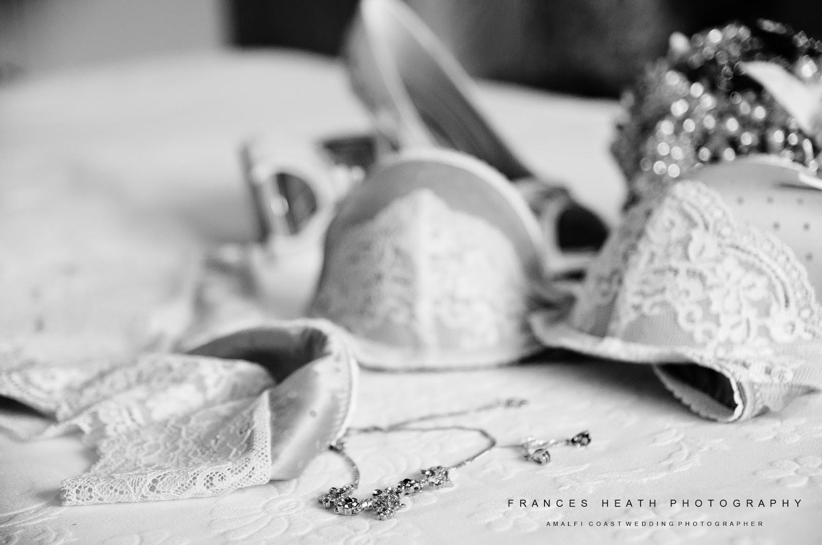 Wedding details in Positano