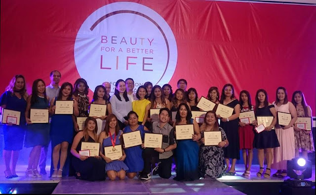 Marikina Scholars of LOreal Philippines Beauty for a Better Life