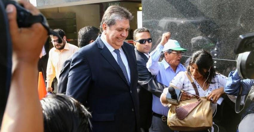 ALAN GARCÍA: Expresidente será interrogado hoy por fiscal Domingo Pérez