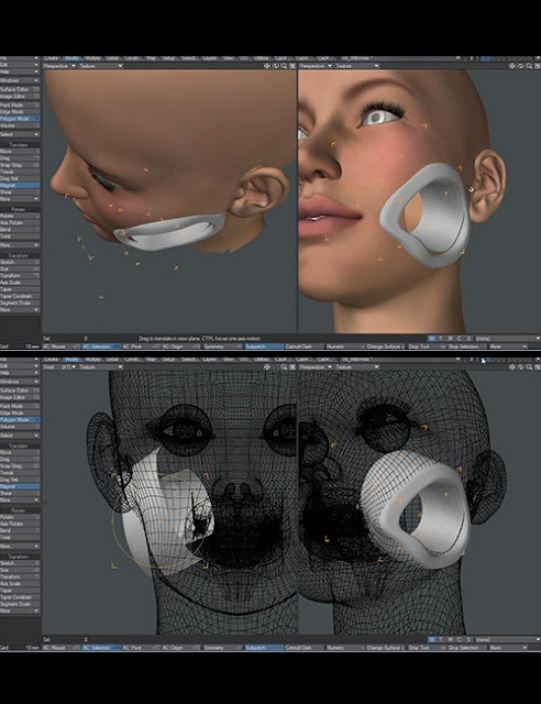 3D Cyborg Tutorial