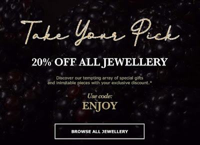Astley Clarke - 20% off all jewellery     Use Code: ENJOY