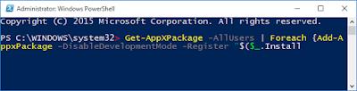 Mengatasi menu start tidak bisa dibuka di windows 10-c