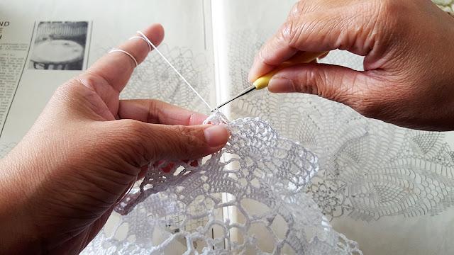 Crochet, Doily, Magic Crochet Magazine