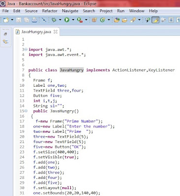 java awt/swing file which is converted into execcutable jar eclipse