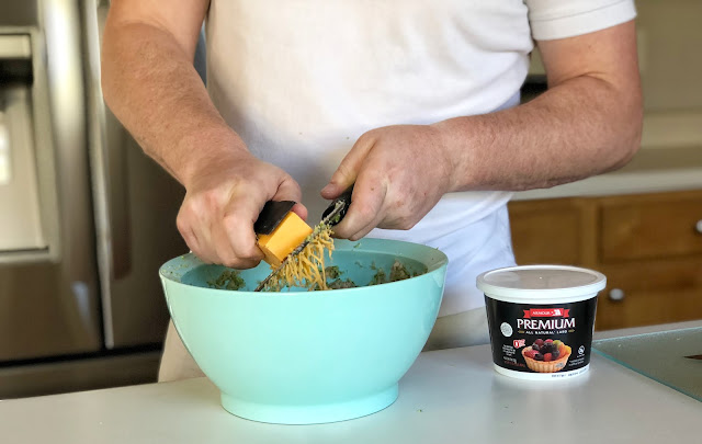 cheddar cheese latke