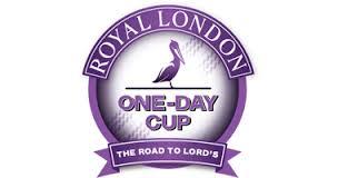 Royal London Cup Quarter Final and Semi Final Draw 2016