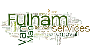 man and van London removal services