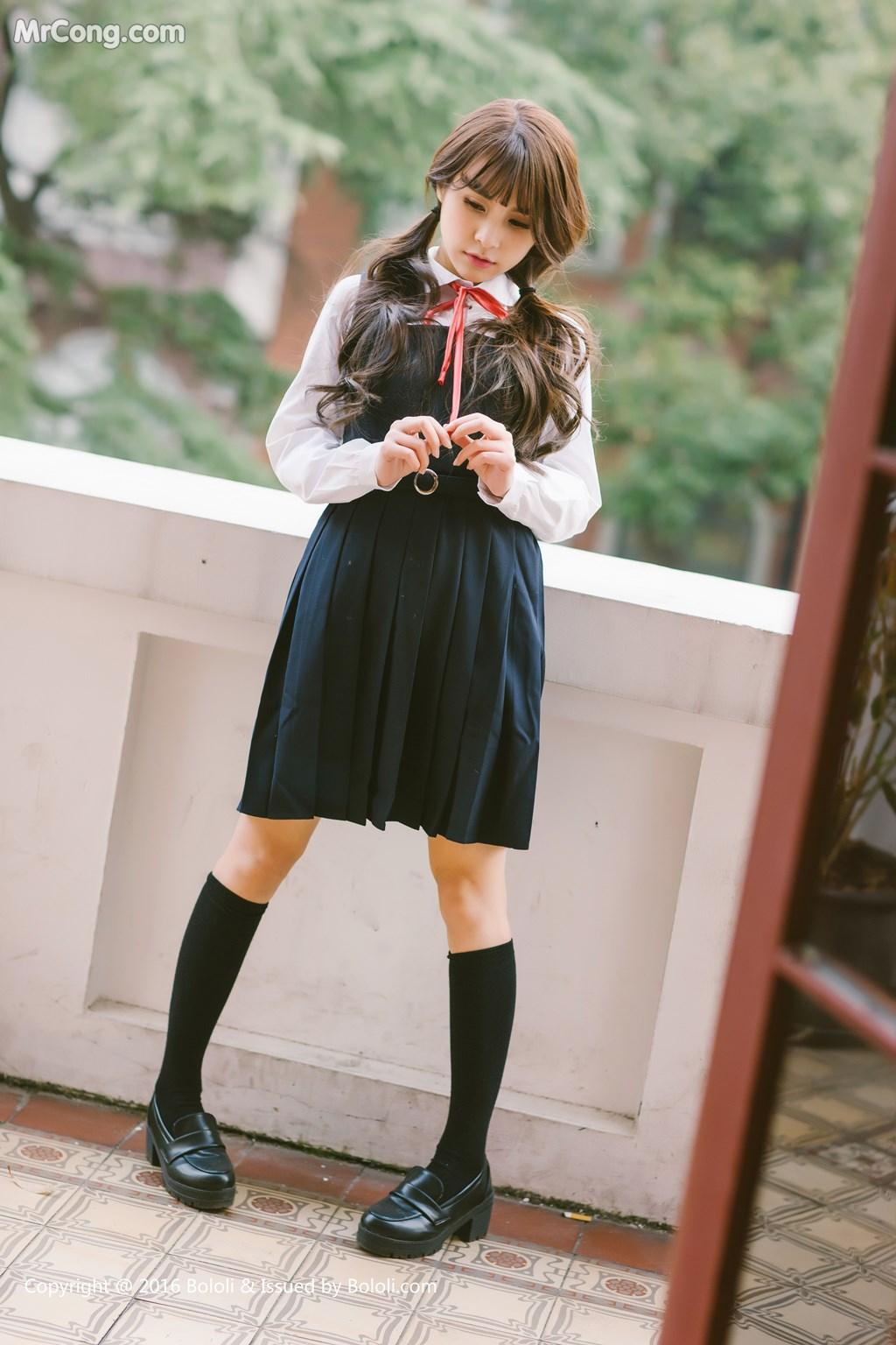 Image Tukmo-Vol.113-Xia-Mei-Jiang-MrCong.com-003 in post Tukmo Vol.113: Người mẫu Xia Mei Jiang (夏美酱) (63 ảnh)