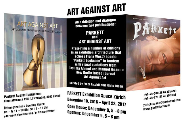 Art Against Art at Parkett