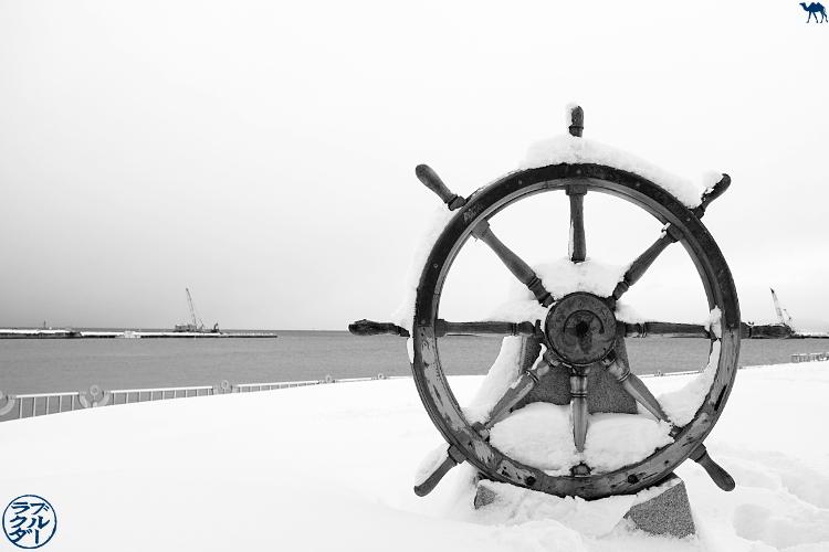 Le Chameau Bleu - Visite de Aomori dans le Tohoku voyage au japon - Port de Aomori