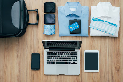 business travel items