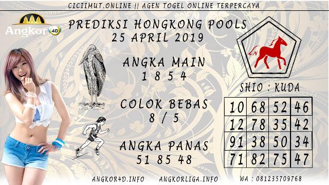 Prediksi Angka Jitu HONGKONG POOLS 25 APRIL 2019