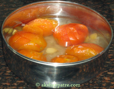 cooked tomatoes for tomato soup recipe