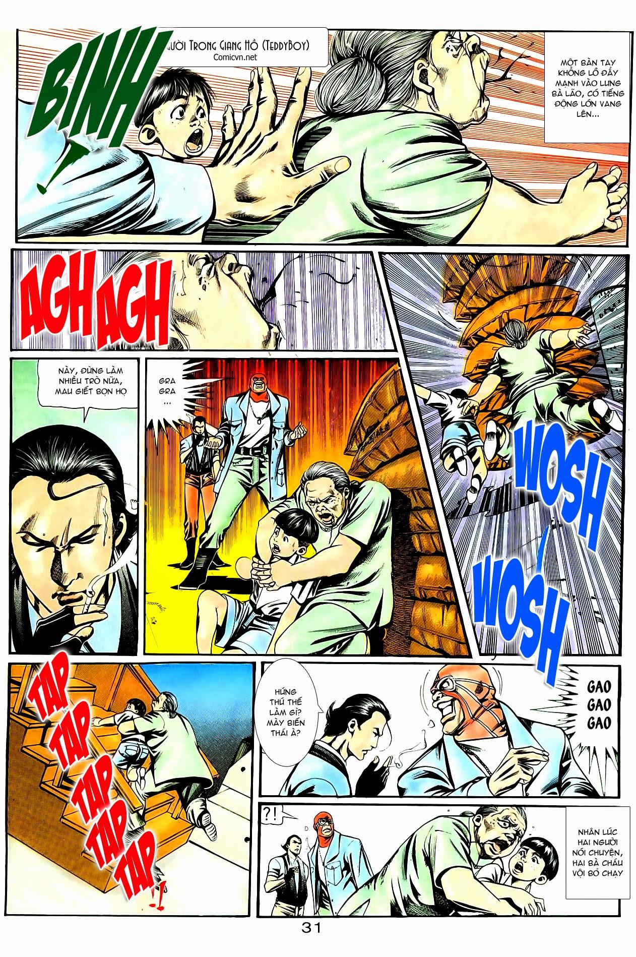 Người Trong Giang Hồ chapter 85: diệt môn trang 4