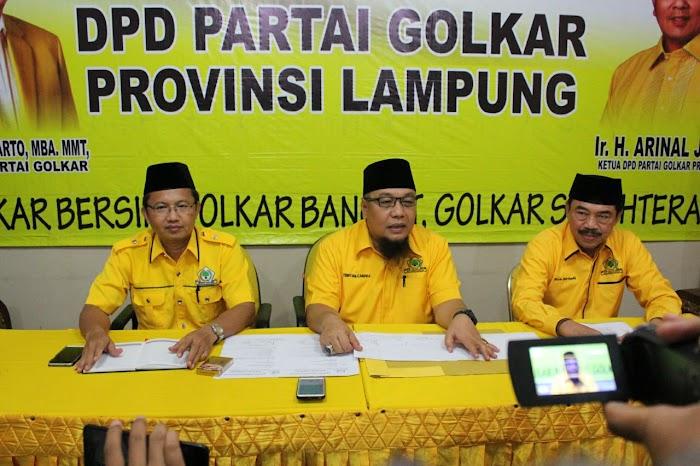 Siap Tempur, Golkar Lampung Optimalkan Potensi Kader.