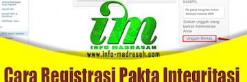 [SIMPATIKA] Cara Registrasi Pakta Integritasi Peserta PPG Guru Madrasah