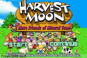 Harvest Moon: More Friends of Mineral Town ; BEST JADUL GAME EVER I COULD TELL!