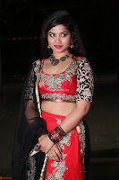 Sirisha Dasari in Red Ghagra Backless Choli ~  015.JPG