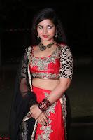 Sirisha Dasari in Red Ghagra Backless Choli ~  015.JPG