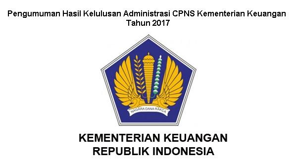 Pengumuman Hasil Kelulusan CPNS Kementerian Keuangan Beserta Jadwal dan Tahapan Seleksi Kemenkeu