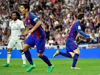 Messi Bikin Barcelona Menang Dramatis Di Markas Real Madrid