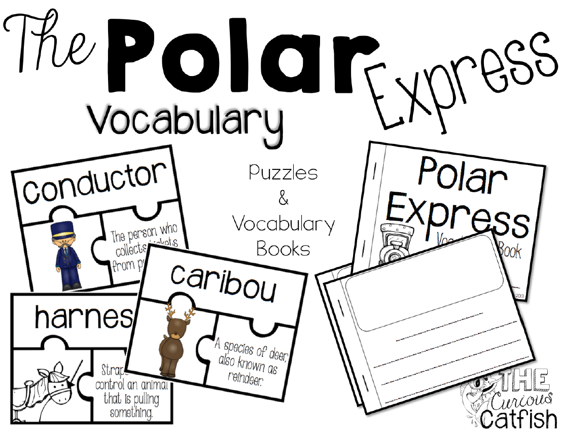 worksheet Polar Express Worksheets the polar express book companion curious catfish there are puzzles and mini vocabulary books for students to practice using language of express