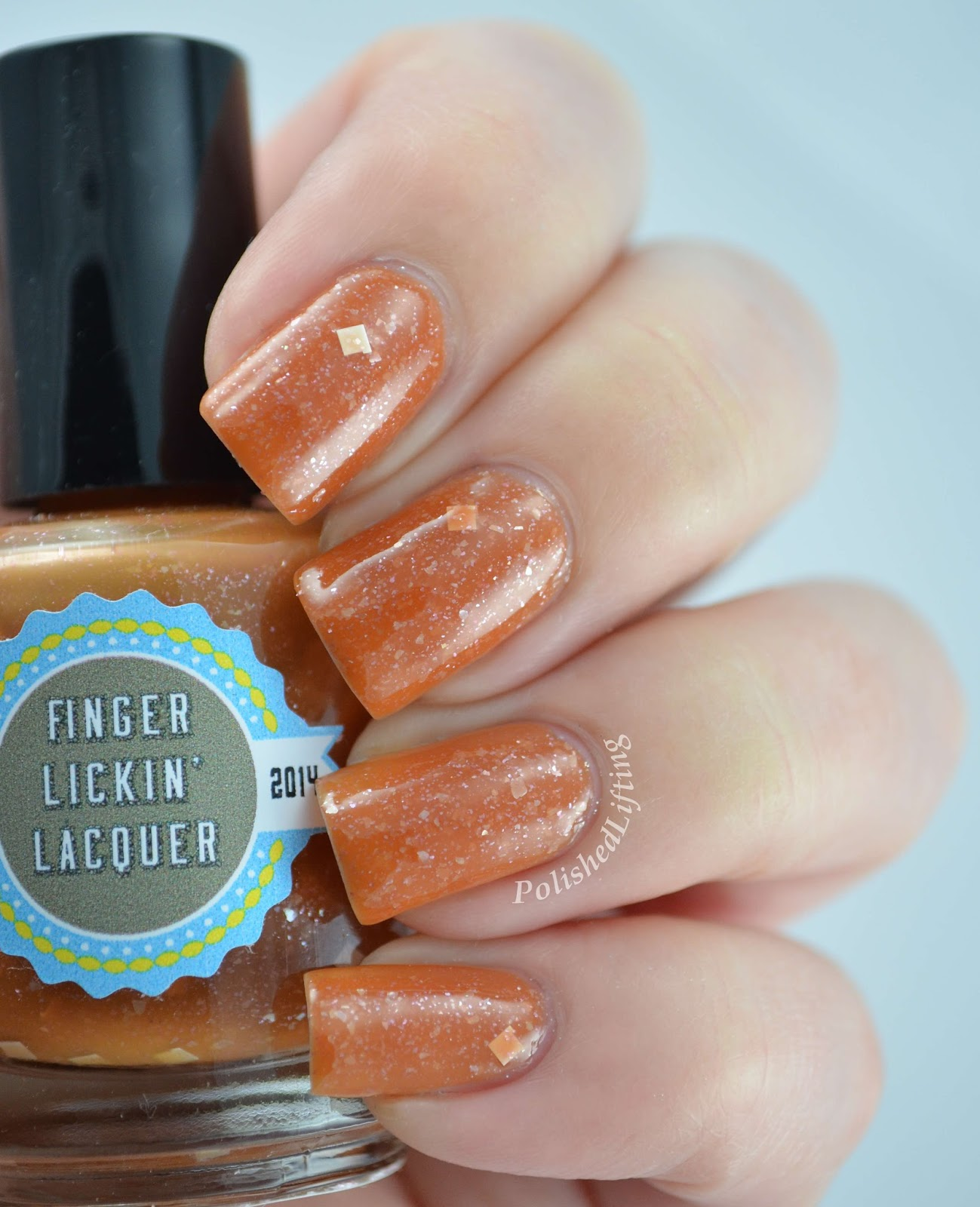 Finger Lickin' Lacquer Peppermint Cocoa