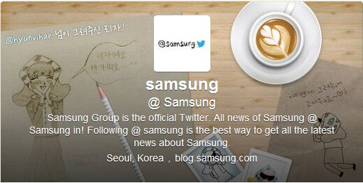 Best Cool Twitter Headers Samsung electronic company