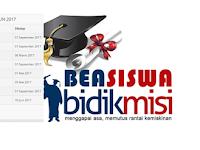 Jadwal dan Syarat Pendaftaran Kuliah Melalui Bidik Misi 2017
