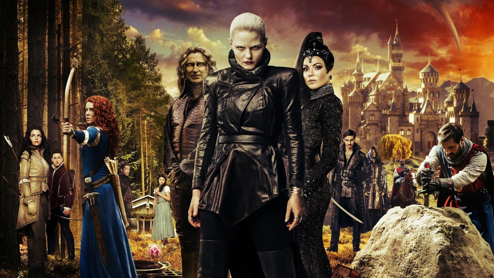 Once Upon A Time Comparando Personagens Com As Versoes Da Disney