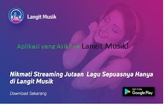 Rview aplikasi langit musik terbaru