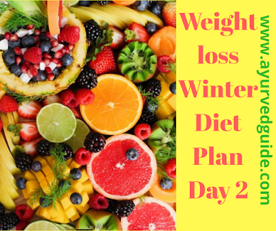 Fast Weightloss Winter Diet Plan