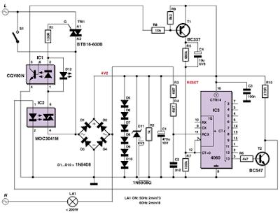 Lighting Circuit Diagram