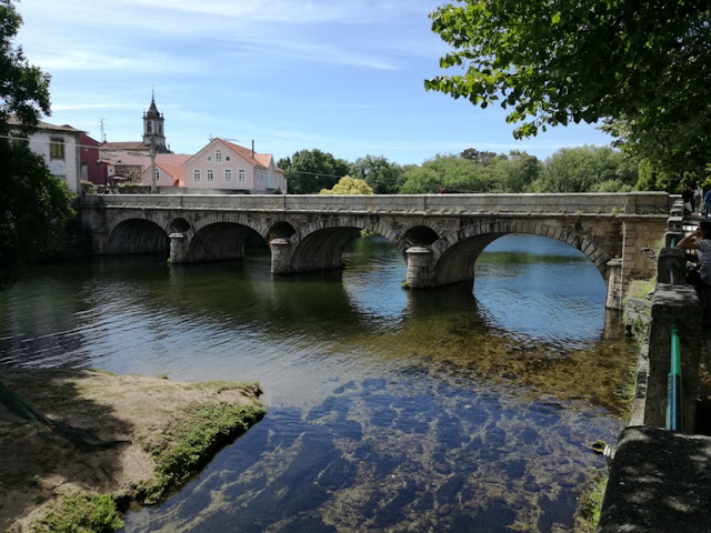 Ponte Romana sobre o Rio Vez