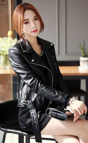 Jual Jaket Kulit Asli Garut Wanita Domba Original Brida Leather M12 | WA 08813430588