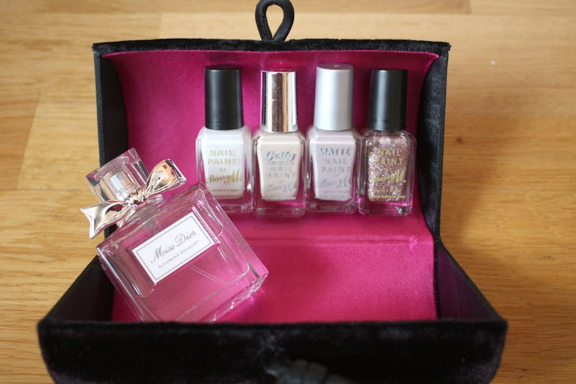barry m nail varnish miss doir perfume