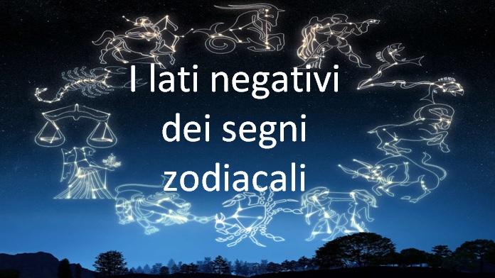 Jennaro: I lati negativi dei segni zodiacali