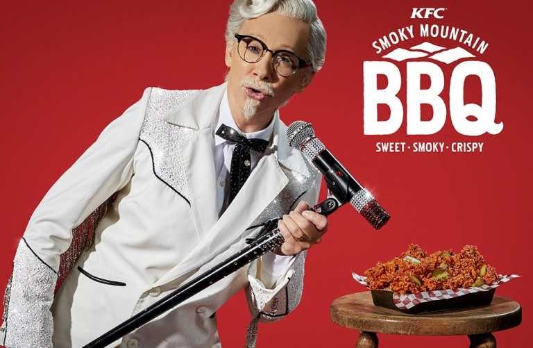 First female Kentucky Fried Chicken Colonel is ... country music phenom Reba McEntire